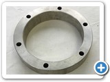 Machined Extruded Aluminum Tube Spacer