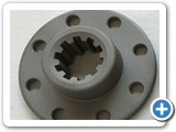 CNC Machined & Broached Clutch Hub